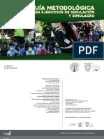 Guía Metodológica para ejercicios de Simulación y Simulacro