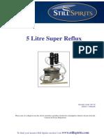 5L Super Reflux Still Instructions