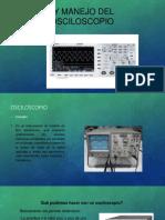 uso y manejo del osciloscopio