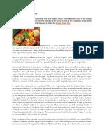 Organic-Vs Non-Organic Food Reading