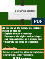 Being a Filipino Citizen