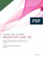 Manual LG 23 3D