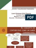 Diapositivas Medición y Valoración en La Contabilidad Financiera