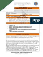 Acta 1 Defensa Civil