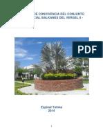 MANUAL DE CONVIVENCIA DEL CONJUNTO  RESIDENCIAL BALKANES DEL VERGEL II.docx