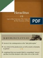 Heraclitus Pythagoras
