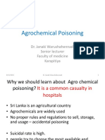 Agrochemical poisoning