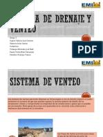 Sistema de Drenaje y Venteo