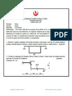 Parcial 2016 1 upc analsis estructural 2