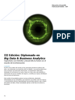 III Edición Big Data & Business Analytics_Agosto2019