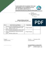 Surat Pengantar SKPD