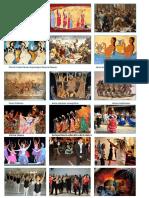 Pintura Fúnebre Museo Arqueológico Nacional Nápoles Danza Primitiva