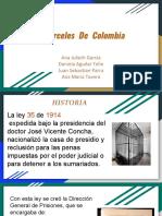 Carceles de colombia