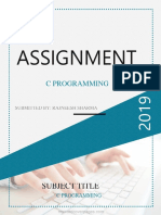 Assignment of c Programming