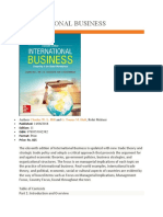 Global Business Titles