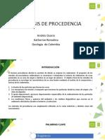 Analisis de Procedencia
