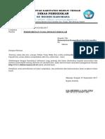 Surat Keterangan Kepala Sekolah