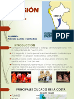 La Región Costa -Perú