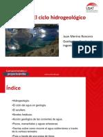 TEMA 4.5 - El Ciclo Hidrogeológico
