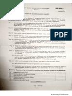 AP 8601 - Audit of Shareholders' Equity