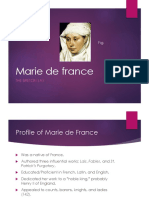 Marie de France and the Breton Lay
