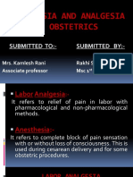 ANESTHESIA AND ANALGESIA IN OBSTETRICS.pptx