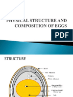 Physical Structure and Composition of Eggs