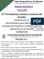 12 Conferencia 12. Herramientas Para Identificar Los Ecosistemas Marinos y Costeros