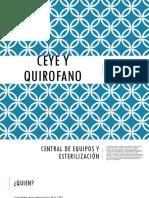 CEYE y Quirofano