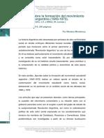 Apuntes movimiento estudiantil en Argentina