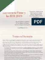 Potencia Firme 2019