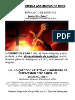 DISCERNIMIENTO DE ESPIRITUS 3 leccion.docx