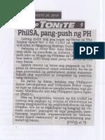 Abante Tonite, Aug. 20, 2019, PhilSA, pang-push ng PH.pdf