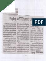 Balita, Aug. 20, 2019, Pagdinig sa 2020 budget, tututukan.pdf