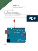 Tutorial Arduino Blinking LED.docx