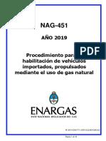 Instructivo -Enargas- Nag 451