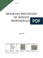 Programa de Prevencion de Riesgos Transmarine