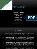 Forecasting ME V