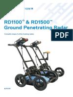 RD1100 RD1500 GPR Brochure