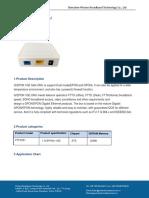 PTF2351+1GE+GEPON+Dual+ONU+datasheet