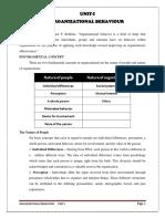 OB Unit - 1 Notes