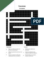 Fracciones(crucigrama)