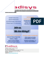 Excellent Opportunity 5G NR LTE PHY FPGA Radisys 1561170351