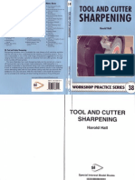 38 - Tool and Cutter Sharpening