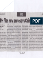 Philippine Daily Inquirer, Aug. 20, 2019, PH files new protest vs China incursions.pdf