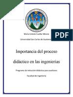 Importancia Del Proceso Didactico