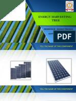 Solar Energy Harvesting Tree