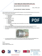 Inspection Report Findings