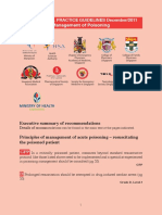 Management of Poisoning Guidelines