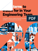 20 patterns in software teams
